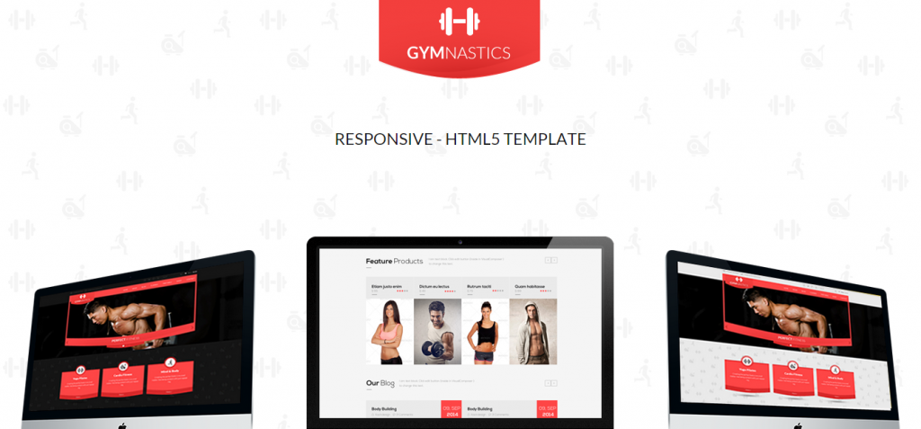 modernSport and Fitness HTML Templates