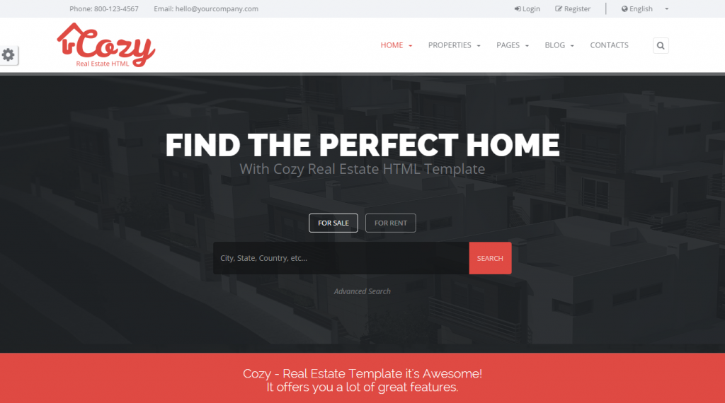 new 2015 HTML5 Template