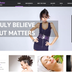 Hair Salon Themes WordPress