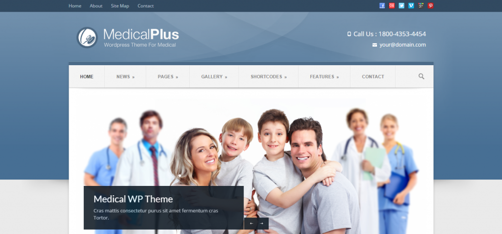 new Dentistry WordPress Themes