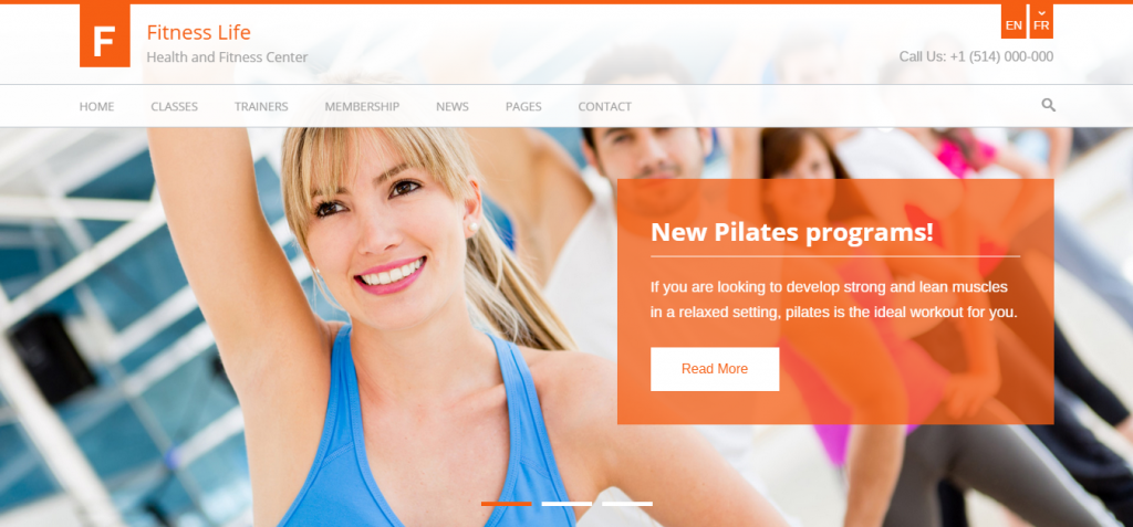 new Sport and Fitness HTML Templates