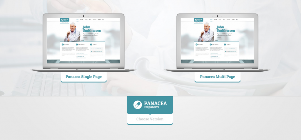 panacea Dentistry WordPress Themes