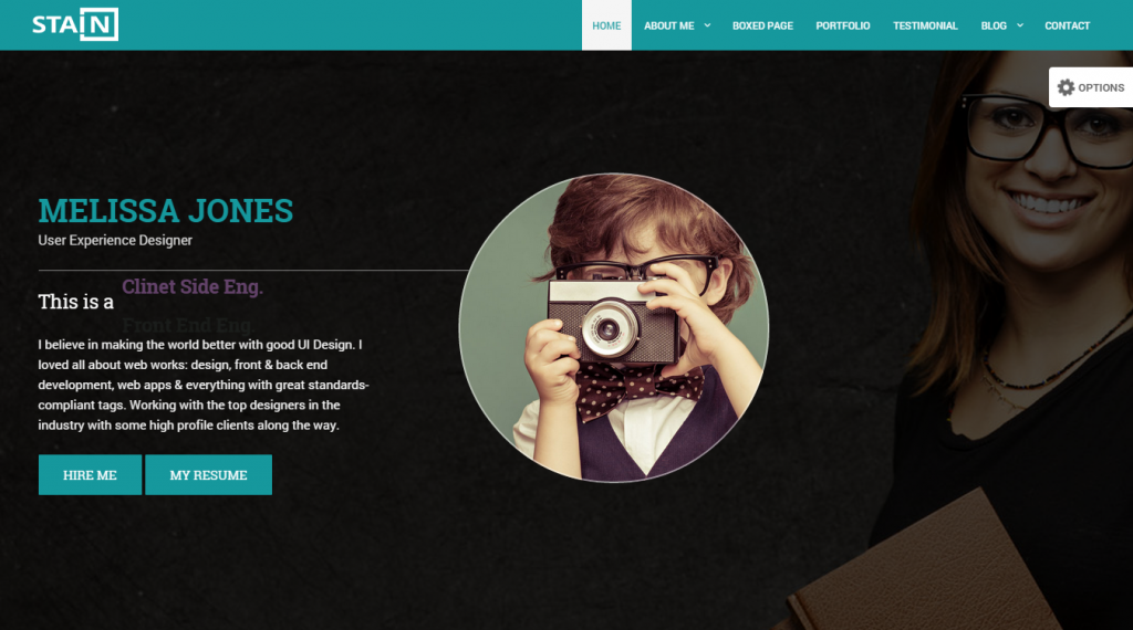 top html template