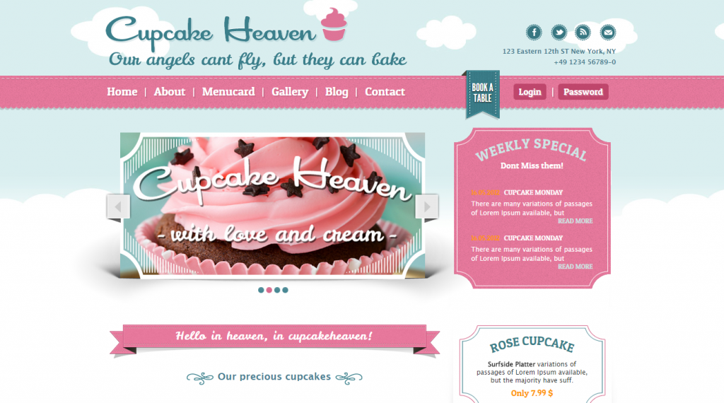 20 Best Bakery HTML Templates | Weelii
