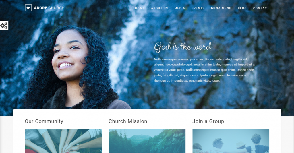 Adore Church Responsive HTML5 Template