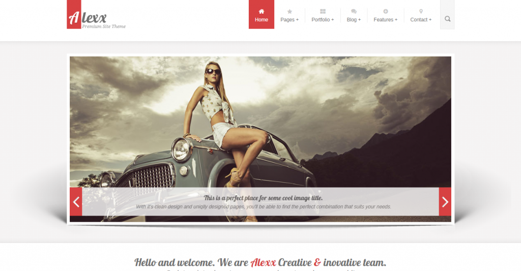 Alexx Multipurpose HTML5 Theme