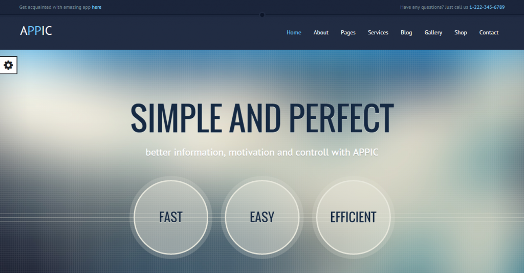 Appic Business & Technology Bootstrap Template