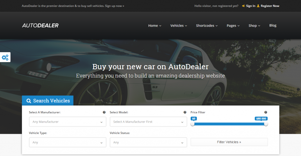 AutoDealer Demo AutoDealer is the premier destination to buy sell vehicles