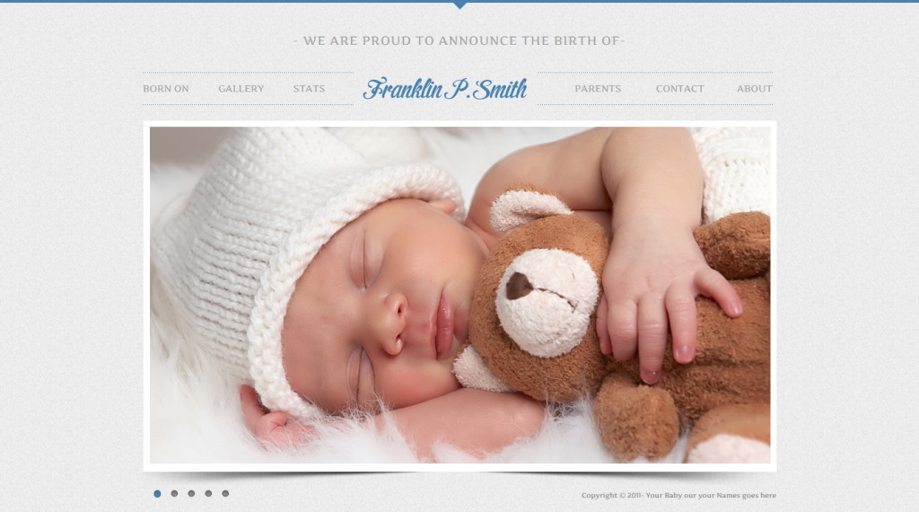 Baby Site Template