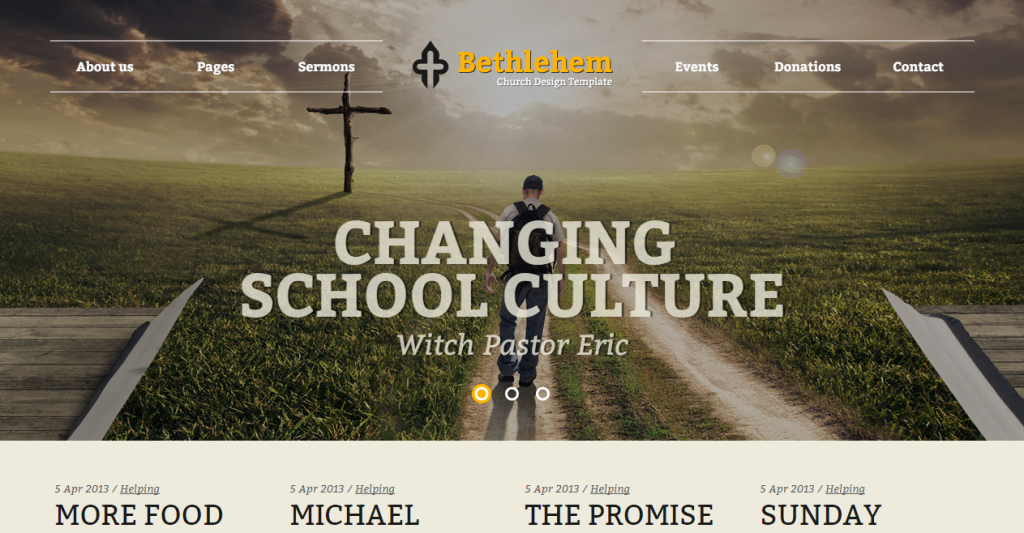 Bethlehem Church Bootstrap 3 HTML5 Template