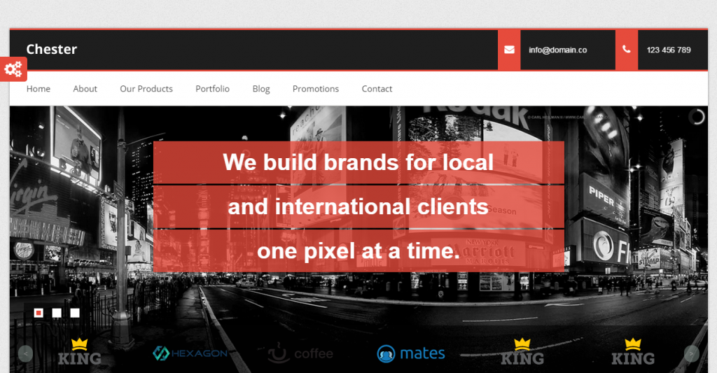 Chester Multi-Purpose And Software,Html template