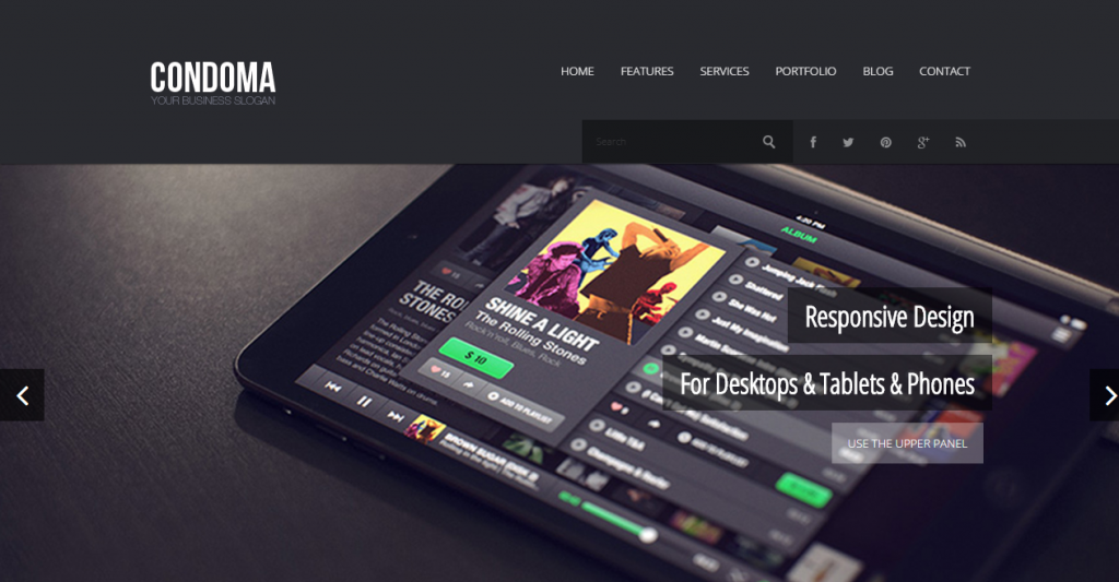 Condoma Creative BusinessPersonal Theme