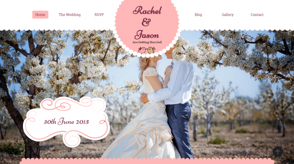 Enlance Responsive Wedding HTML Template