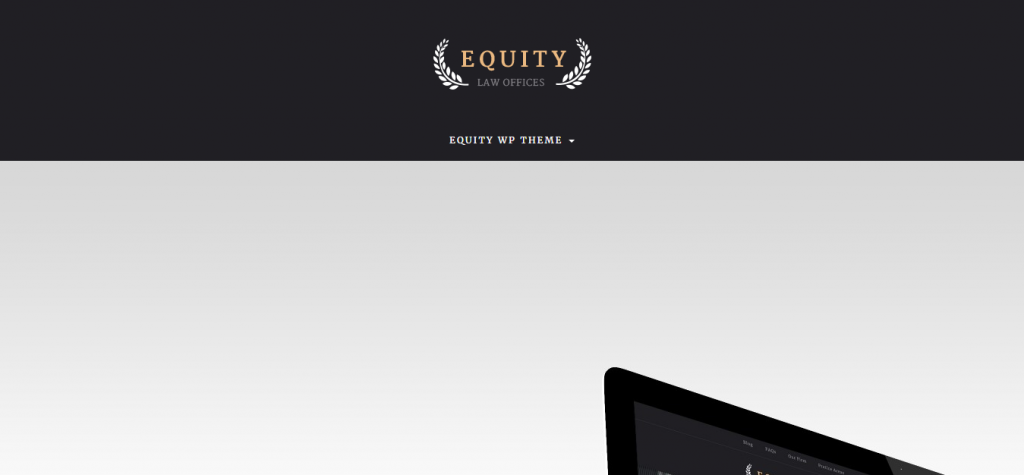 Equity Lawyer and Attorney WordPress Theme
