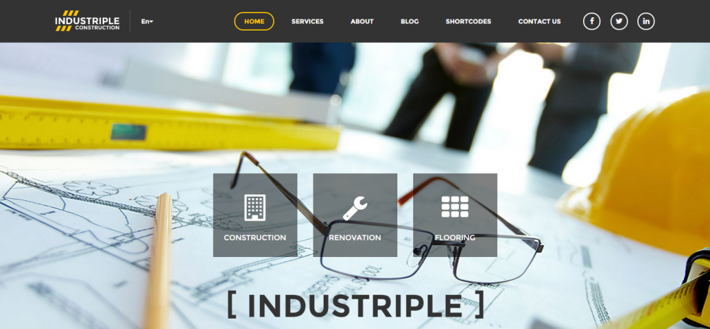 Industriple Multi Industrial WordPress Theme