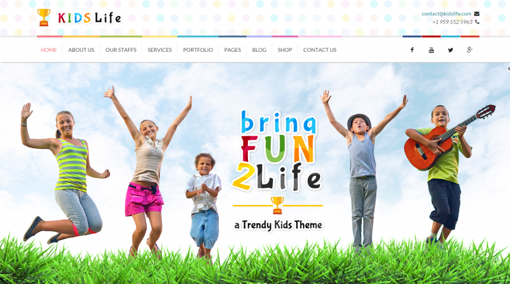 22 best kids html templates weelii - Free Images Children