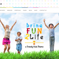 Kids HTML Templates