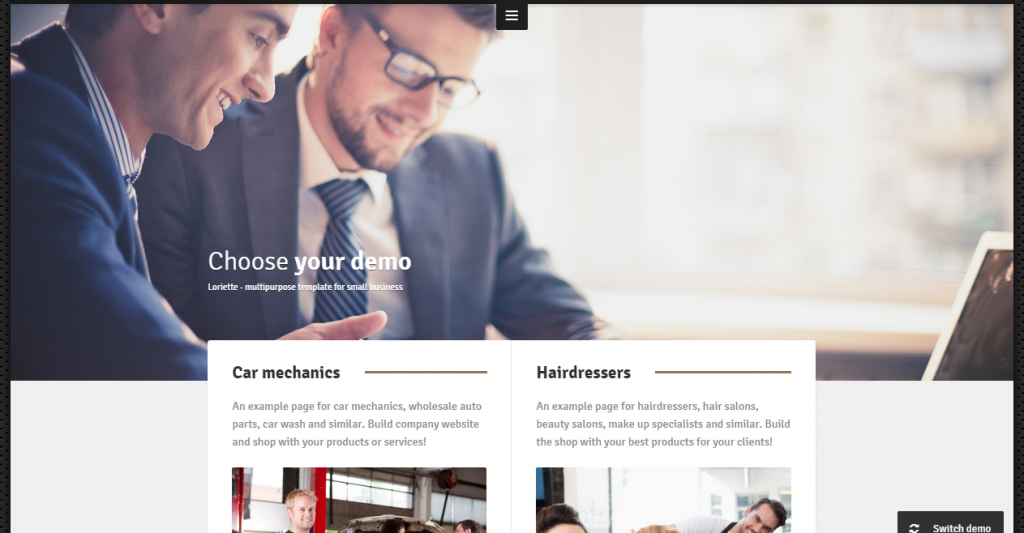 Loriette HTML5 MultiPurpose Template