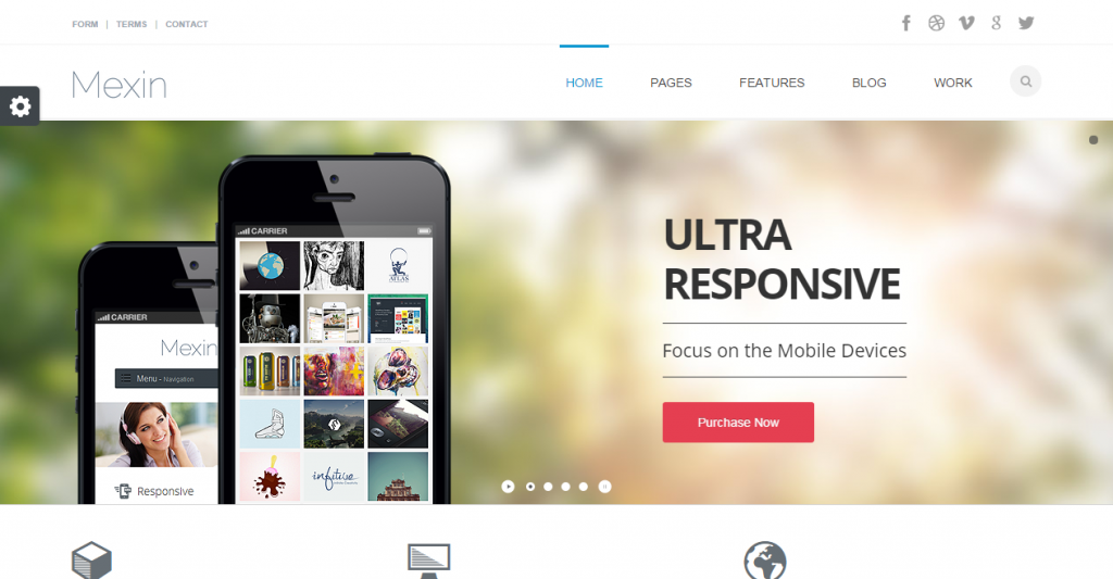 Mexin Premium Multipurpose Responsive Template