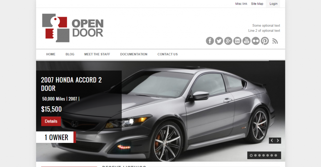 OpenDoor Car Sales