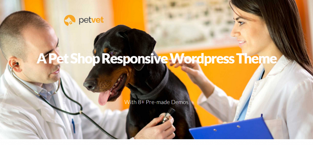 PetVet Vet Pet Responsive WordPress Theme