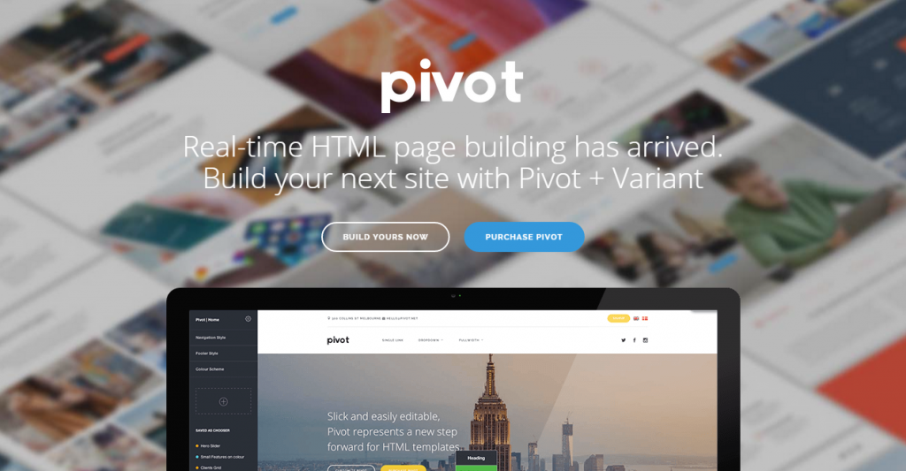 Pivot Multi-Purpose HTML with Page Builder v1.5.0