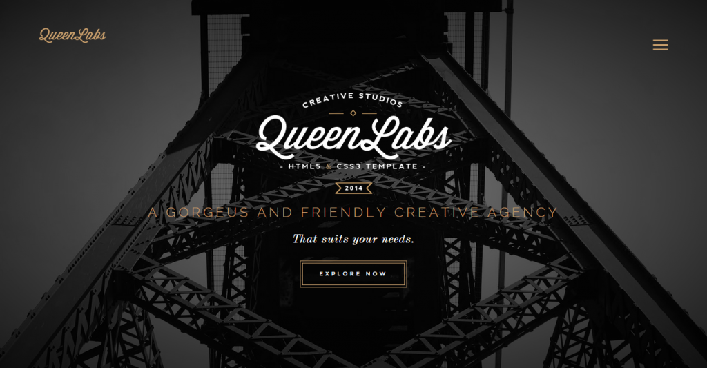 Queen One Page Parallax