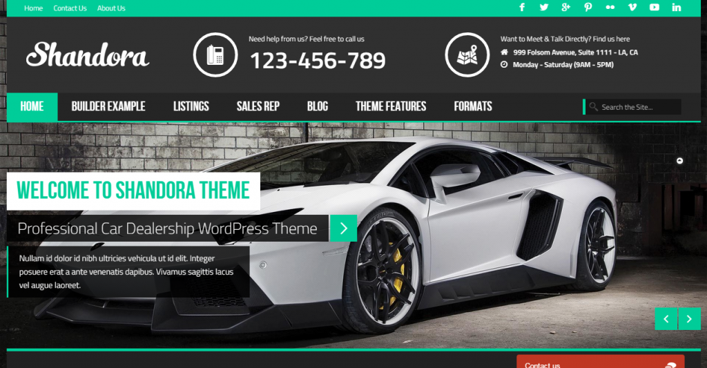 Shandora Car Dealership Just another WordPress site