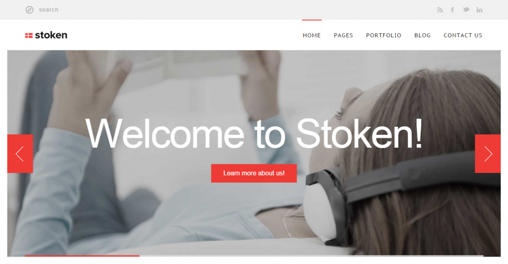 Stoken Responsive WordPress Theme