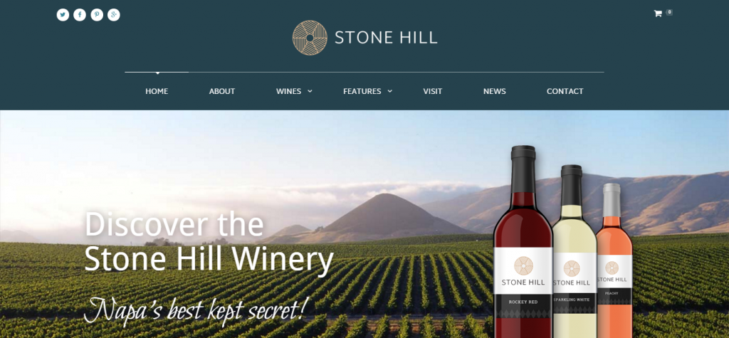 Stone Hill Vineyard and Winery Theme