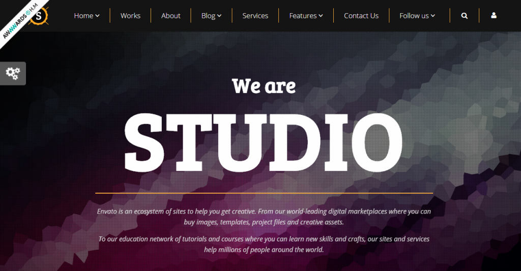 Studio Multipurpose Video,Parallax,Slider Bg Theme