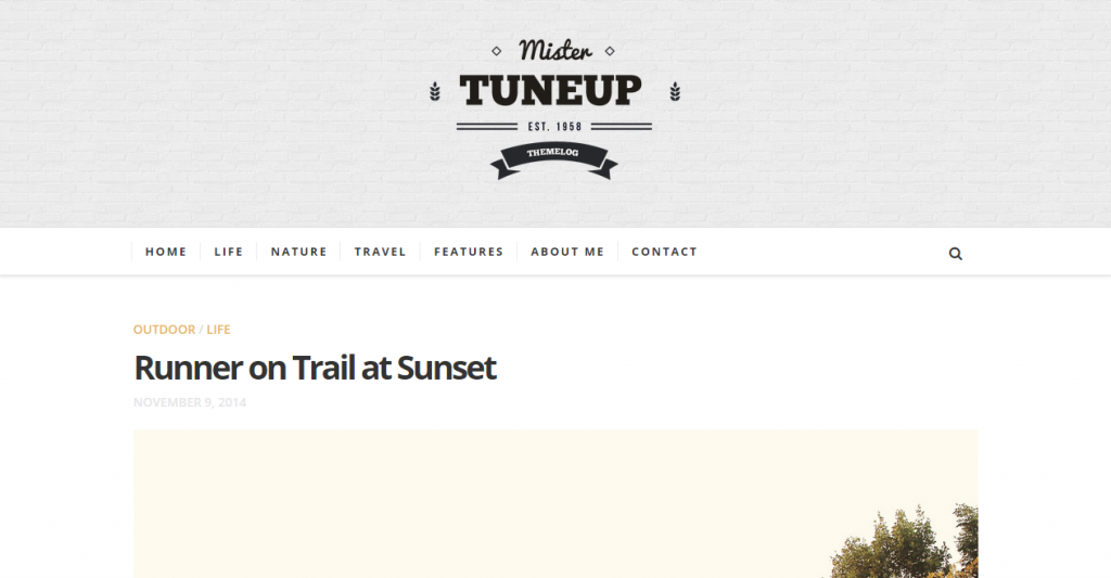 TuneUp Responsive HTML5 Blog Template