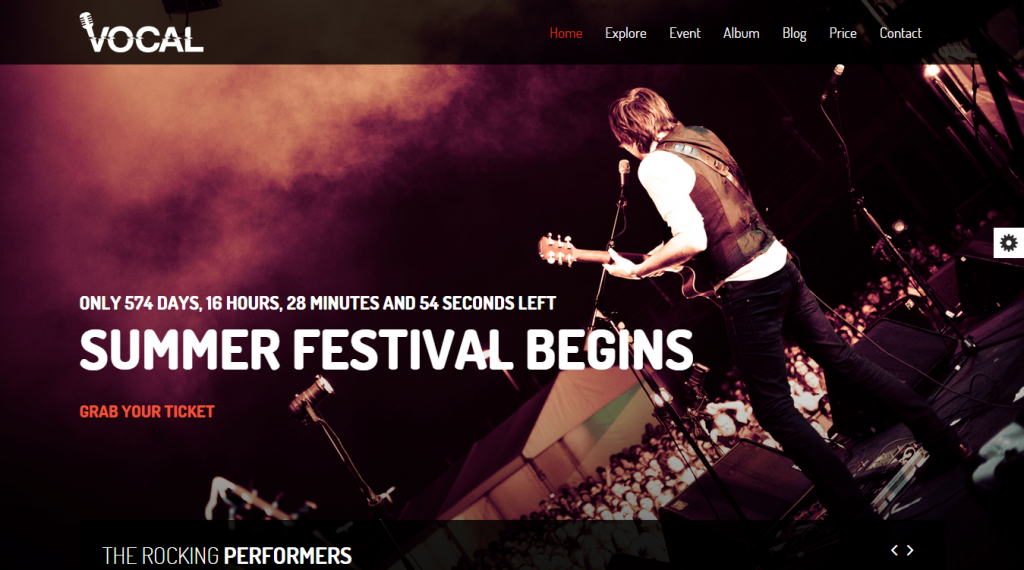 Vocal Responsive Events & Music Template