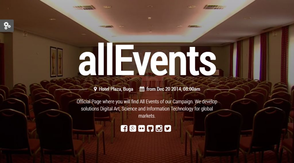all Events - Event, Conference, Tourism, Music, Sport Theme