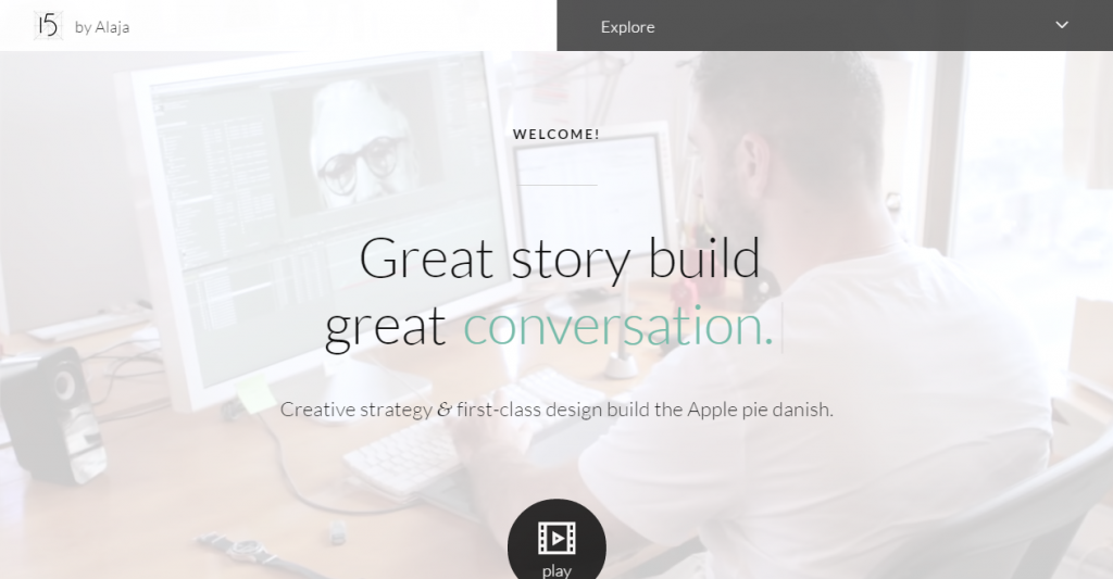 15 by Alaja Fast & Responsive HTML5 Template Kit