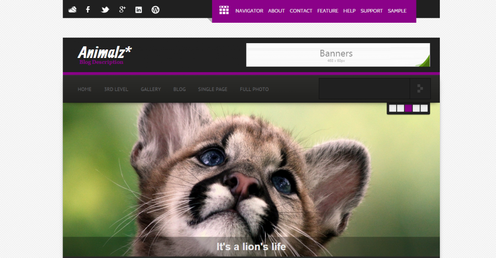 Animalz EcoGreen Environmental HTML Template