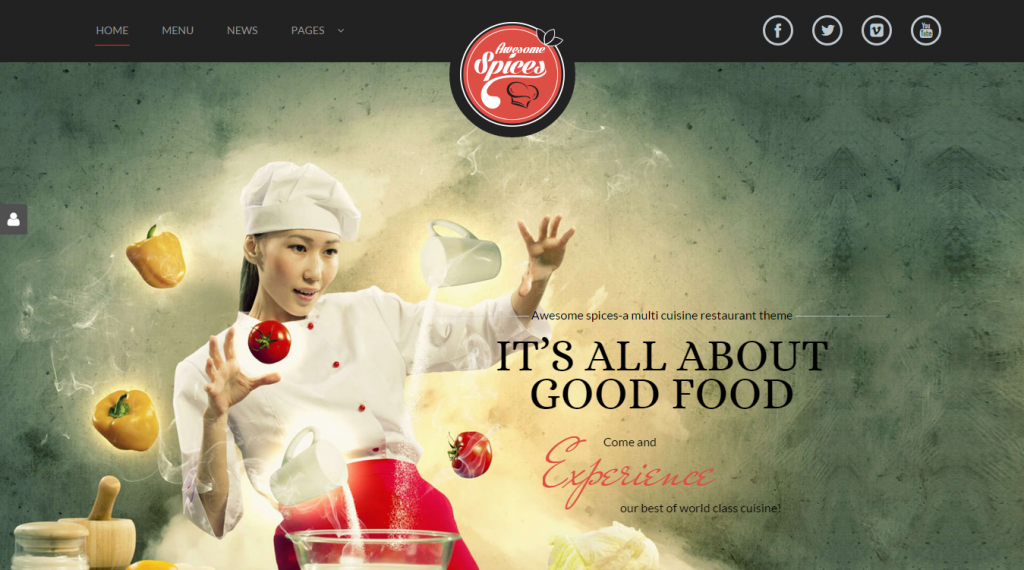 Awesome Spice Restaurant Cafe HTML TemplateAwesome Spice Restaurant Cafe HTML Template
