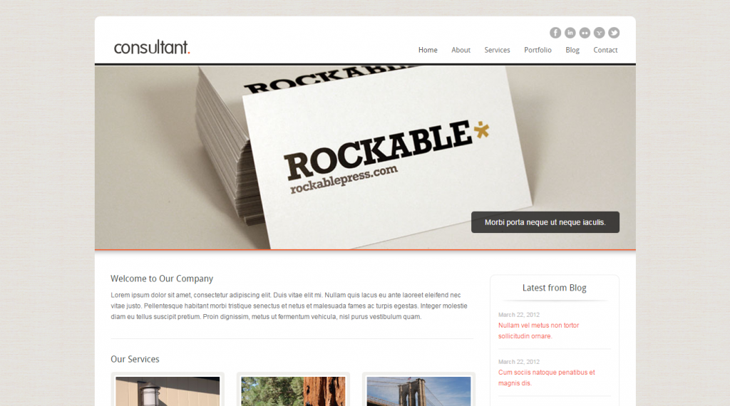 Consultant Corporate Business HTML Template