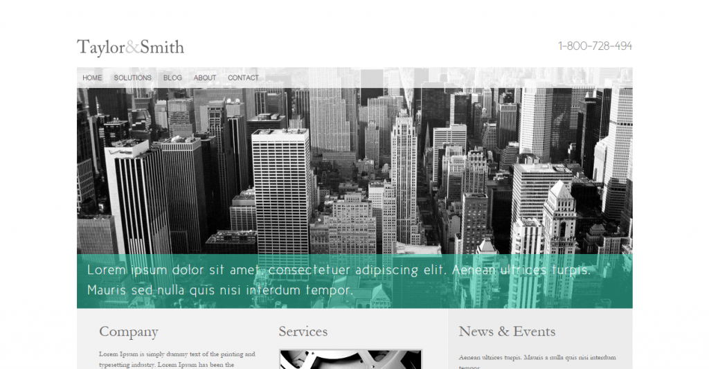 Corporate A clean business template