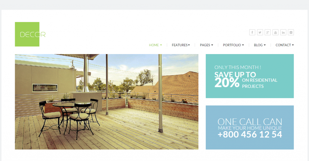 Decor HTML5 Versatile Template