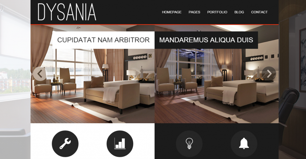 Dysania Responsive Multi-Purpose HTML Template