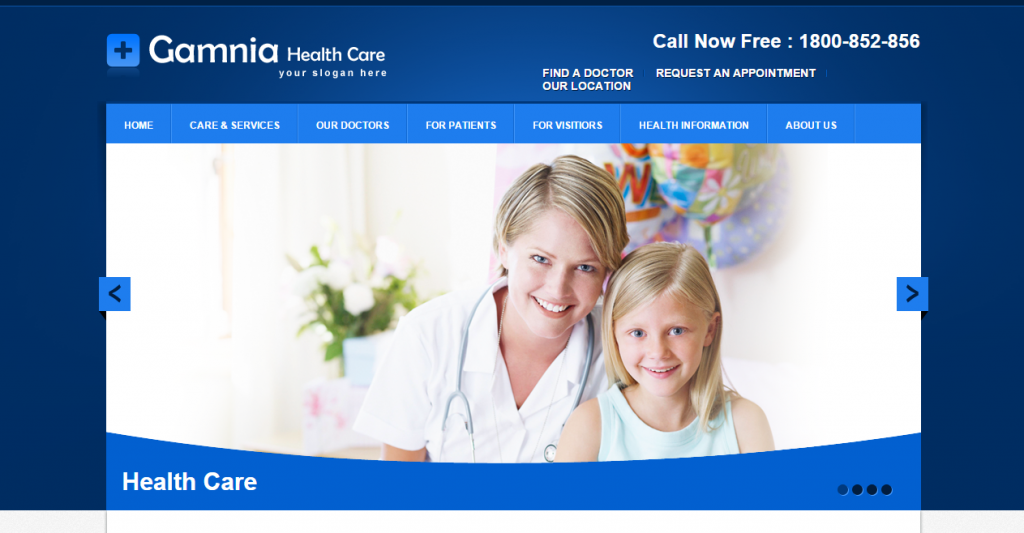 Gamnia Health Care Template