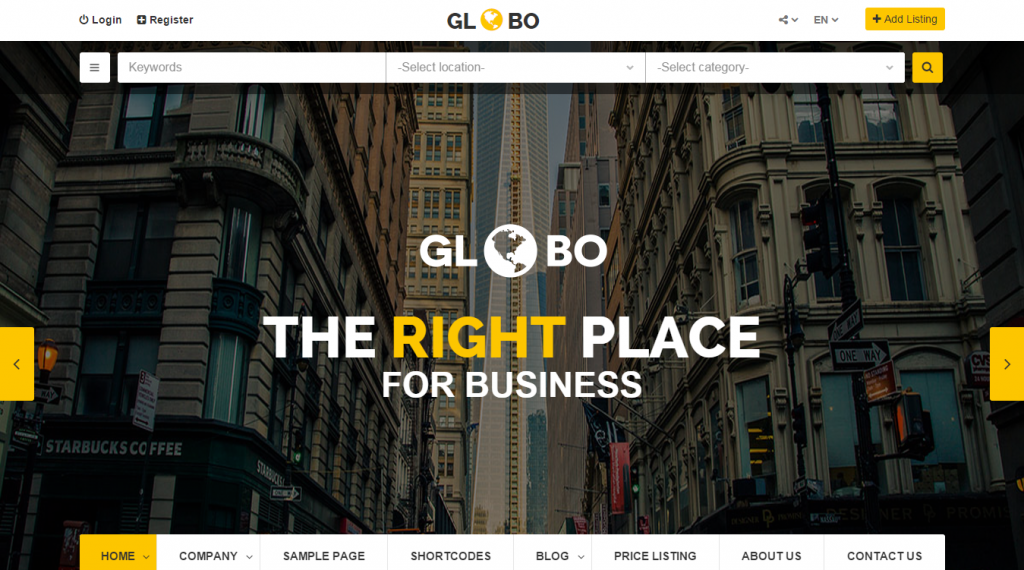 39 best directory html templates weelii globo directory listings html template accmission