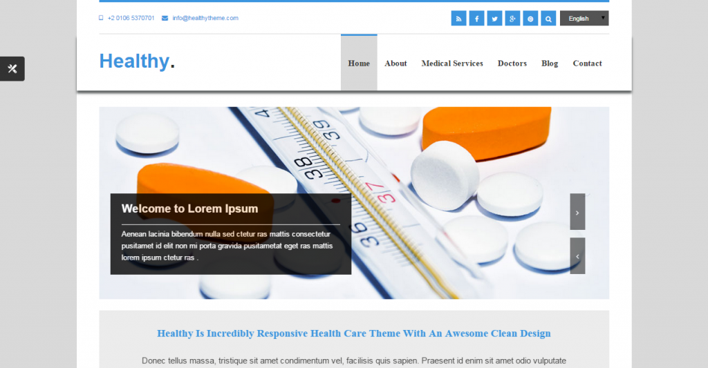 Healthy Awesome Medical HTML5 & CSS3 Template
