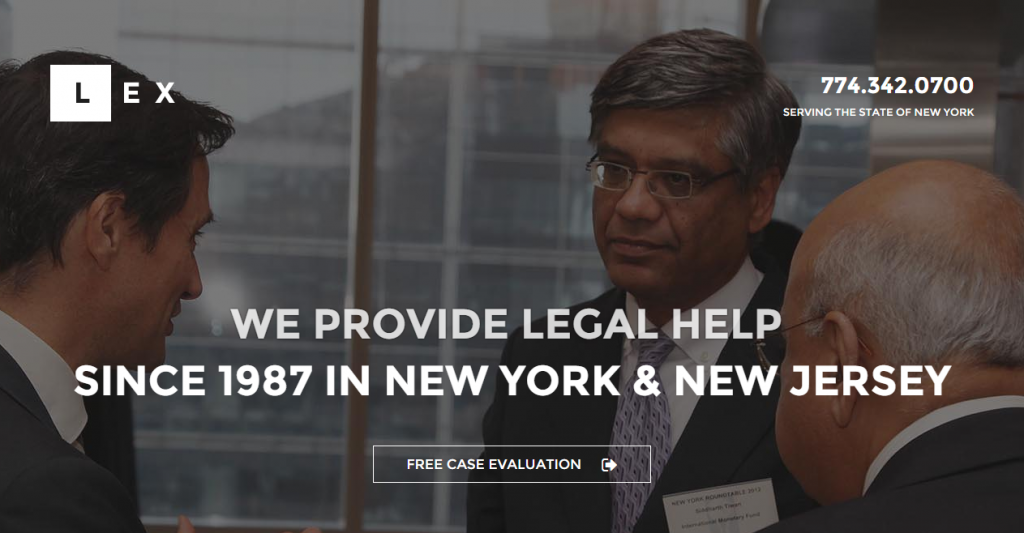 LEX Lawyers, Law Offices & Attorneys HTML