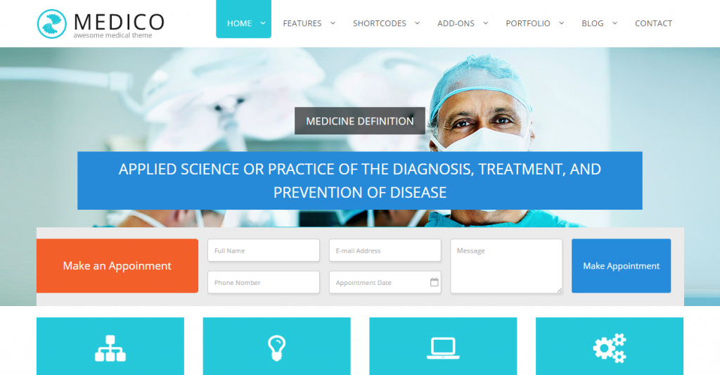 Medico Medical & Health HTML5 Template