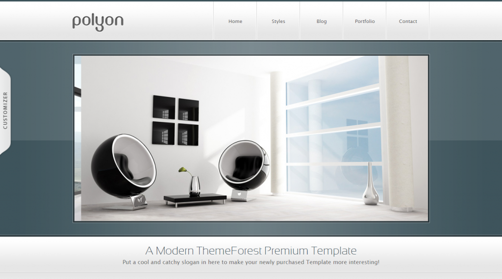 Polyon Modern and Futuristic HTML Template