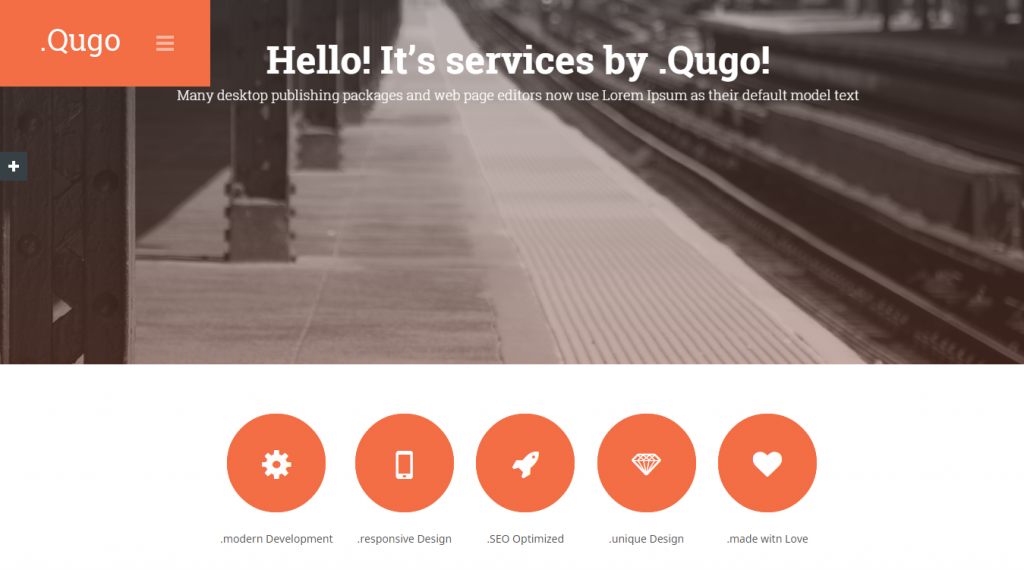 Qugo One Page Multi Purpose Modern HTML Template