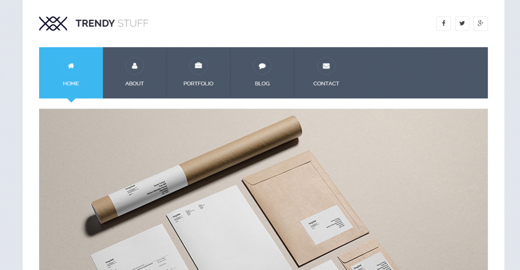 Trendy Stuff Responsive Business HTML5 Template