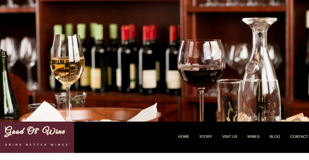 Winery HTML Templates